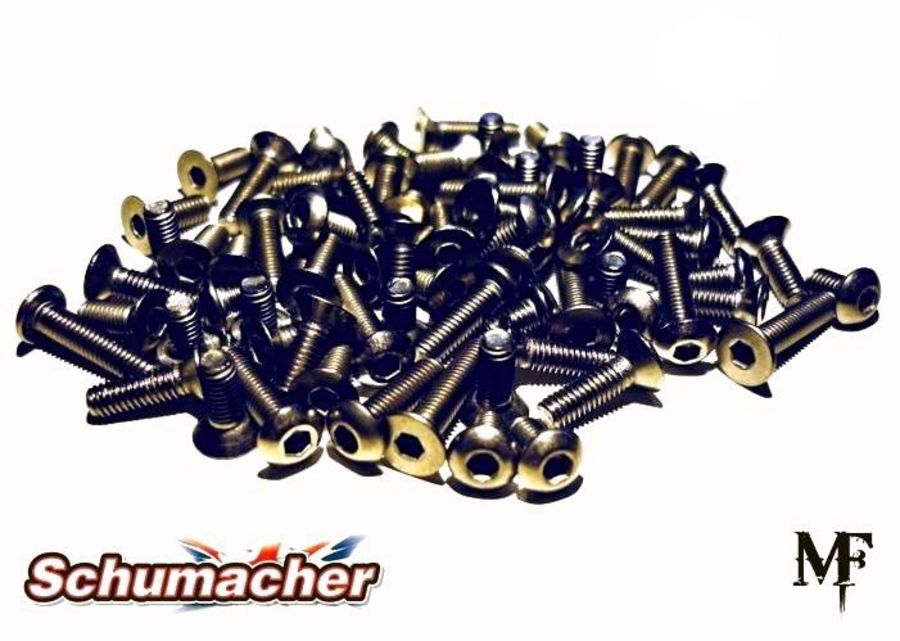Schumacher Mi6 Evo Titanium Screw Set