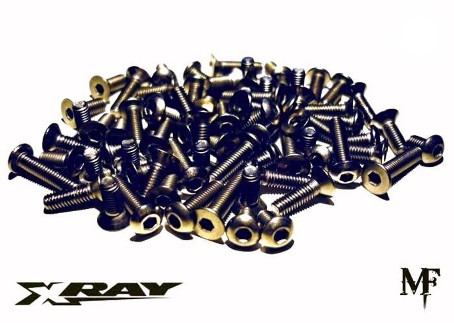 Xray X1 Formula 1 Titanium Screw Kit (2016 to 2019)