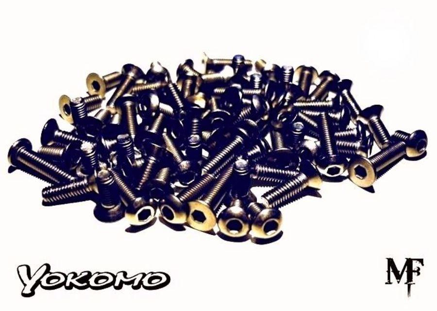 Yokomo BD7 Titanium Screw Kit