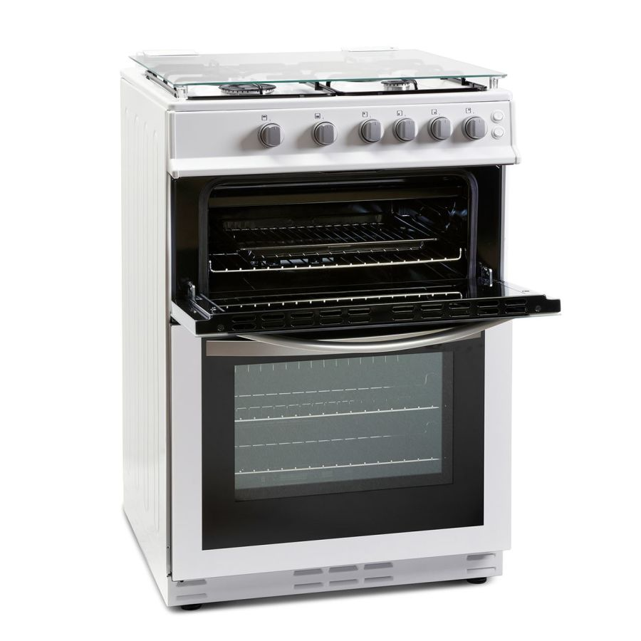 Montpellier Double Gas Cooker MDG600LW