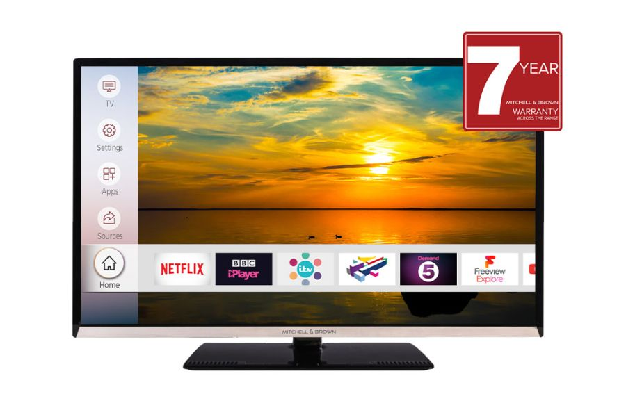 Mitchell & Brown 43 Inch Smart 4K TV JB-43UHD18114K