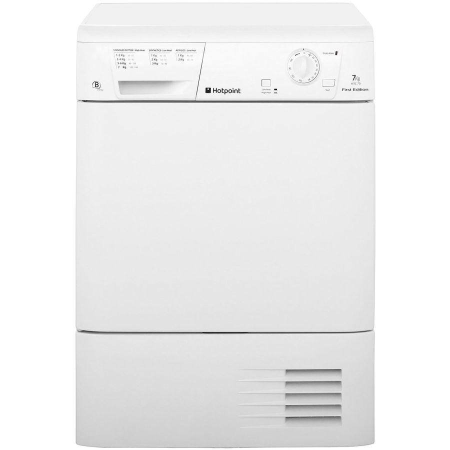 Hotpoint White Condenser Dryer FETC70BP
