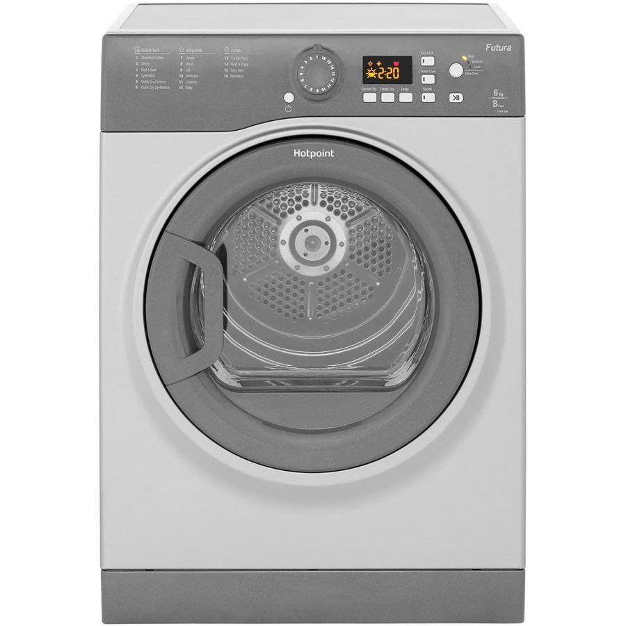 Hotpoint Graphite Vented Dryer FTVFG65BGG