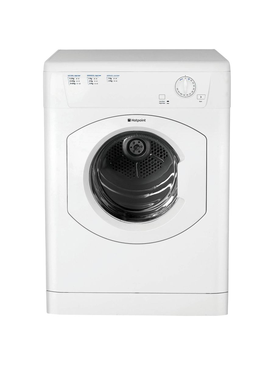 Hotpoint 6kg Vented Dryer FETV60CP