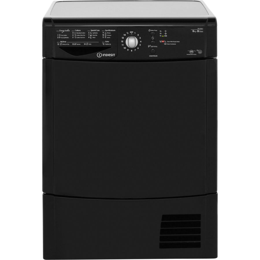 Indesit 8kg Condenser Dryer IDCL85BHK