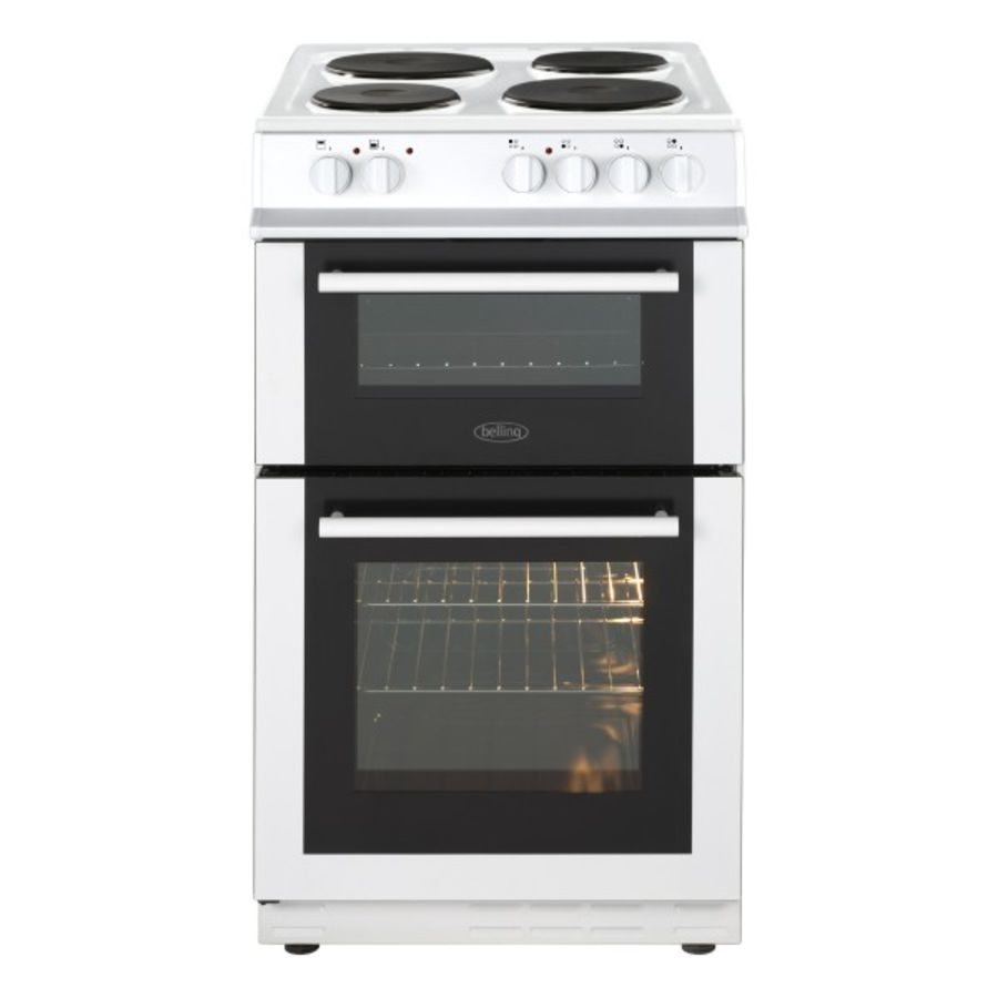 Belling Twin Cavity Electric Cooker FS50ETWHI
