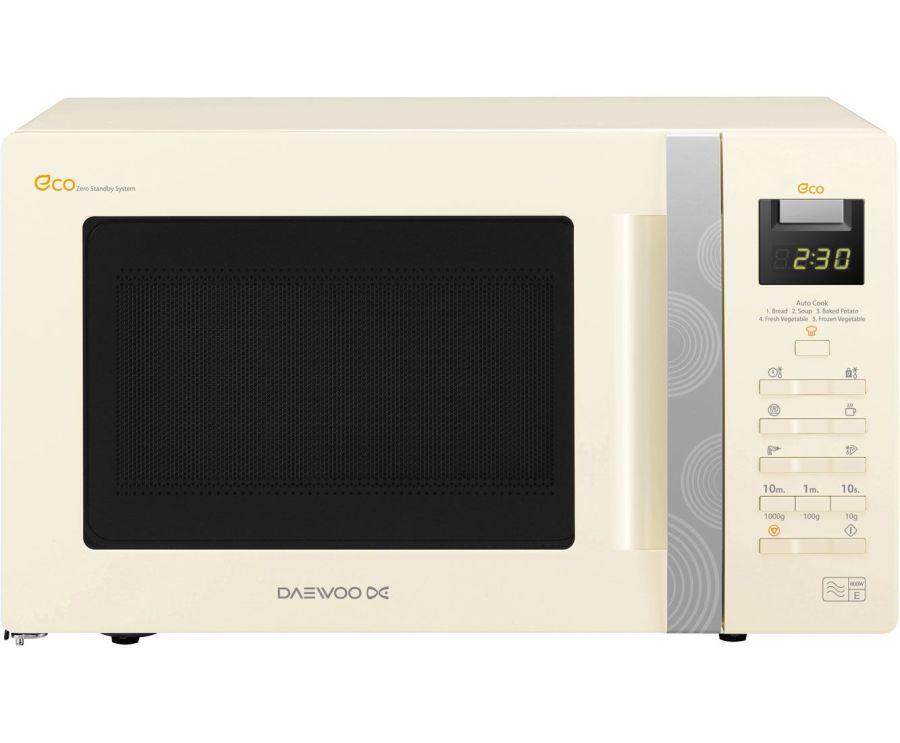 Daewoo 800 Watt Digital Solo Microwave KOR6A0RC