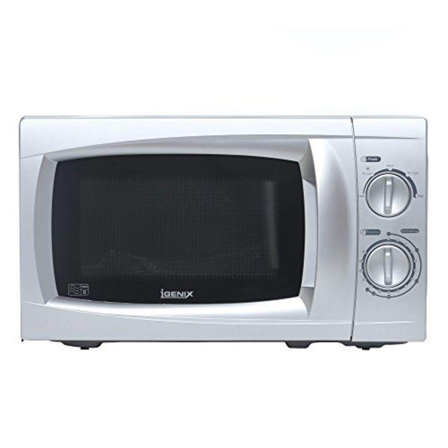 Igenix Silver 700 Watt, 20 Litre, Manual Microwave Oven IG2807