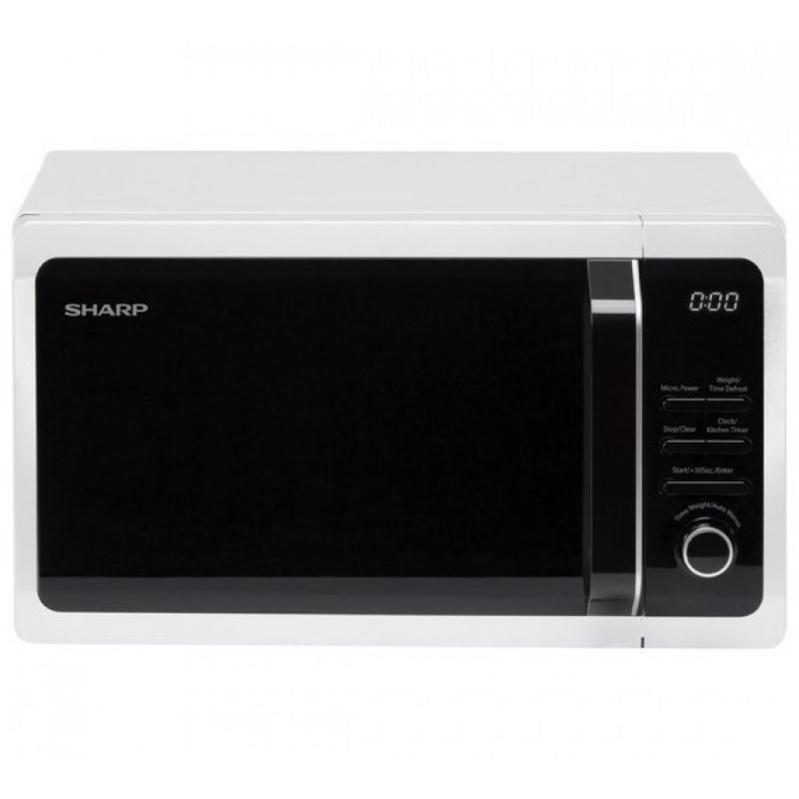 Sharp 800 Watt, 20 Litre White Microwave Oven R274WM