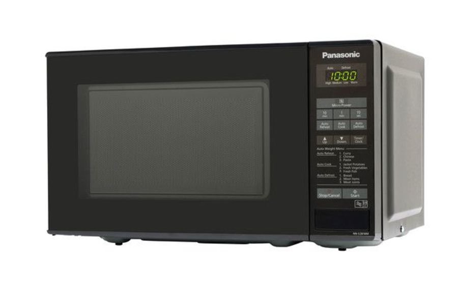 Panasonic 800 Watt, 20 Litre Black Microwave Oven NNE281BMBPQ