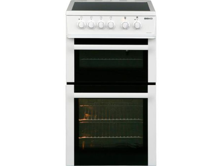 Beko Electric Cooker KDVC563AW