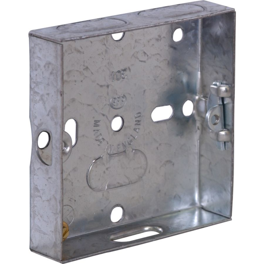 Single Cavity Metal Flush Mounting Box