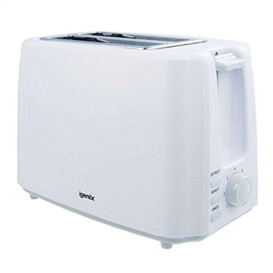Igenix White 2 Slice Toaster IG3011