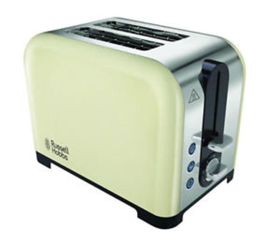 Russell Hobbs Cream 2 Slice Toaster 22393