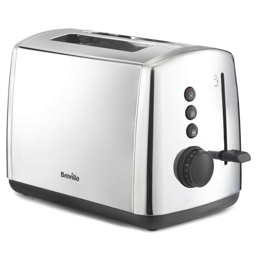 Breville Polished Stainless Steel 2 Slice Toaster VTT548