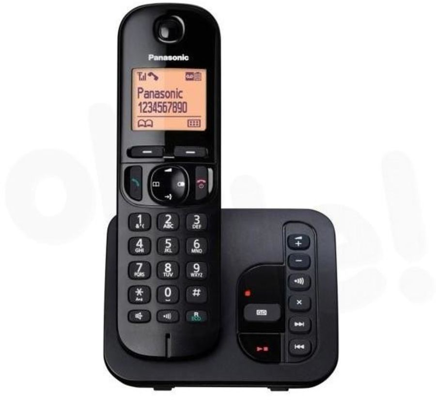 Panasonic Single Telephone with Answer Machine KX-TGX220
