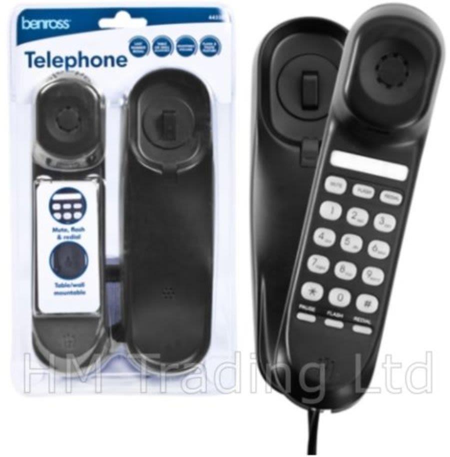 Benross Corded Slimline Telephone 44550