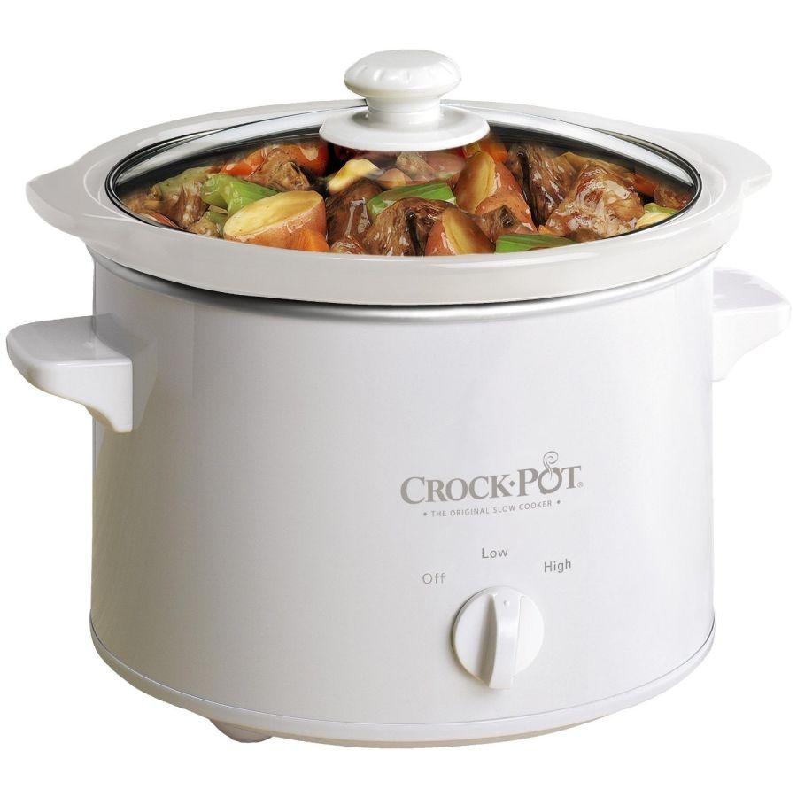 Crockpot 2.4 Litre Slow Cooker SCCPQK5025W