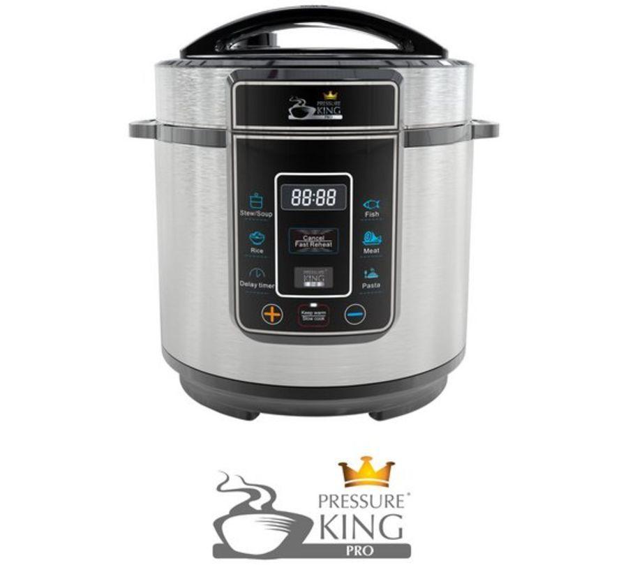 Pressure King 8 in 1 Digital 3 Litre Pressure Cooker SC-30S