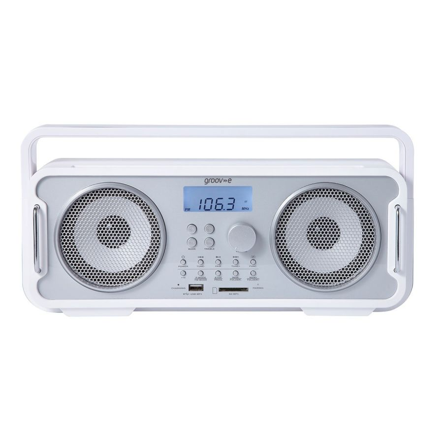 Groove Wireless Bluetooth Radio GV-SP480-WE