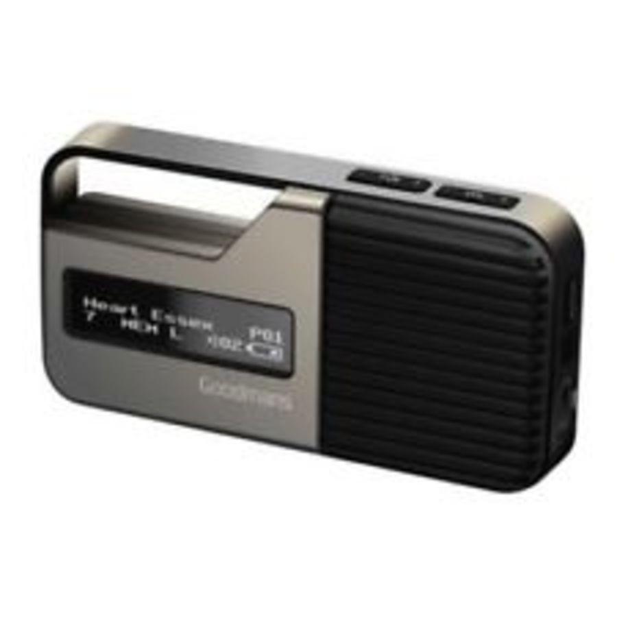 Goodmans Pocket DAB Radio GDPRDAB2ST