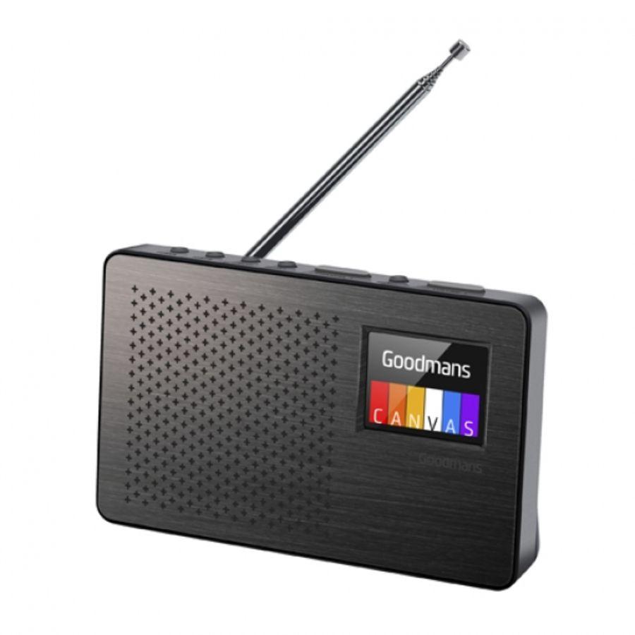 Goodmans Canvas Colour DAB FM Radio