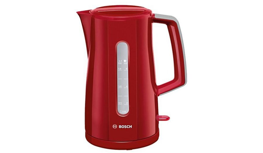 Bosch 'Village' Red Jug Kettle TWK3A034GB/01