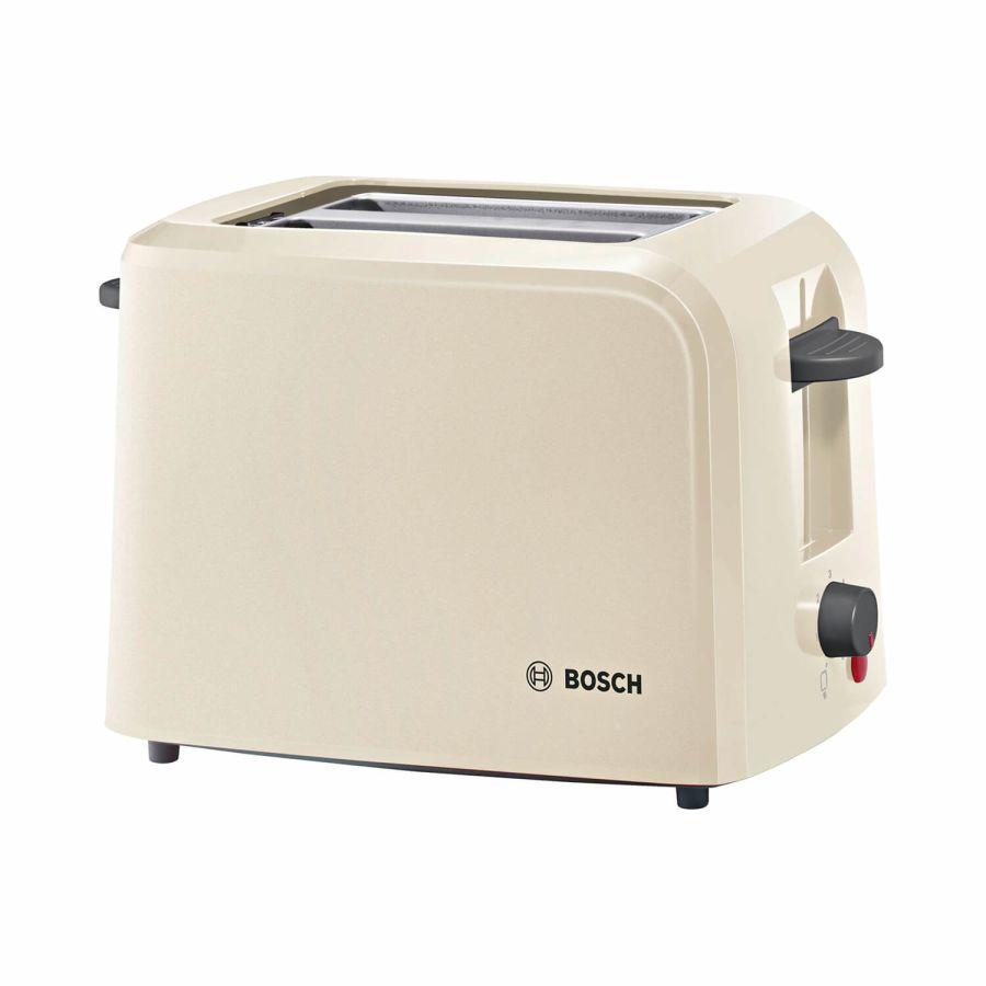 Bosch Cream 2 Slice Toaster TAT3A0175G