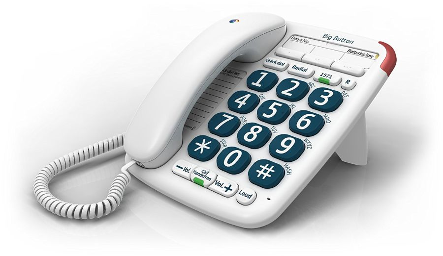 BT Big Button Corded Telephone 200