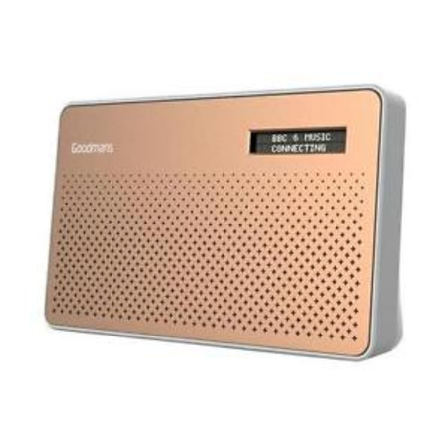 Goodmans DAB Radio (Canvascop)