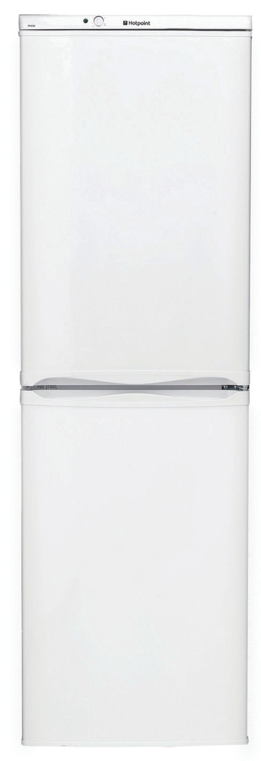Hotpoint White Frost Free Fridge Freezer HBNF5517W