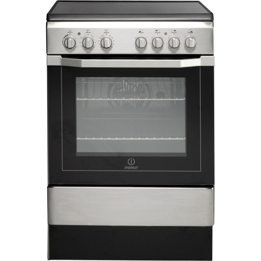 Indesit Single Cavity Electric Cooker I6VV2AX