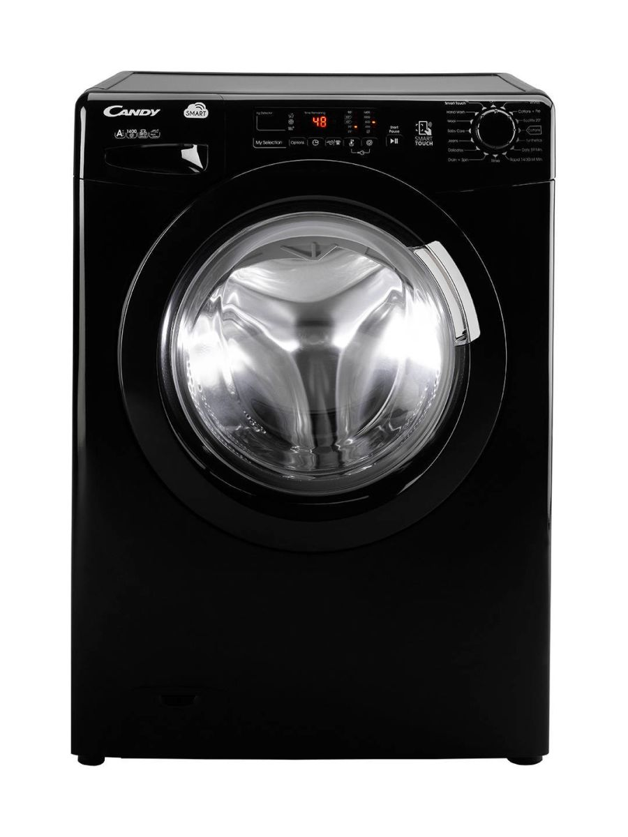 Candy Black 8kg,1400 Spin Washing Machine CVS1482D3B