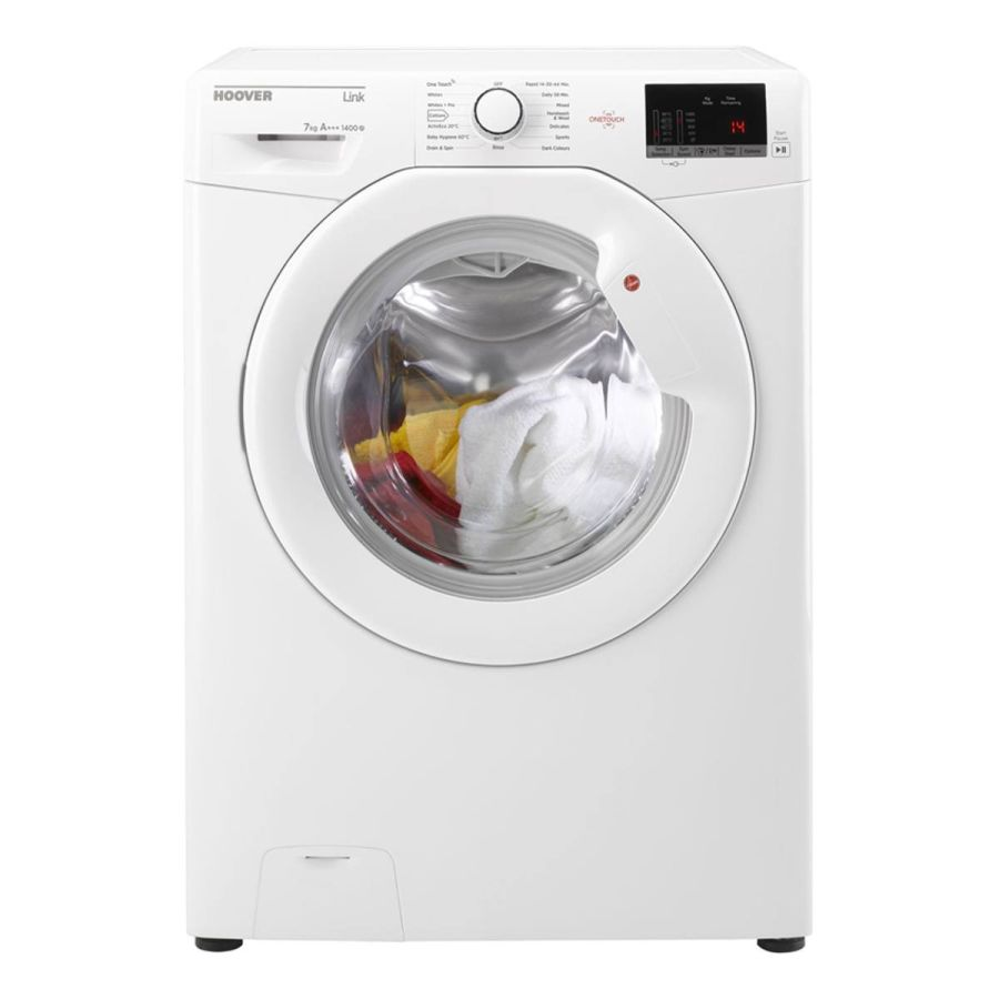 Hoover White 7kg, 1400 Spin Washing Machine HL41472D3W