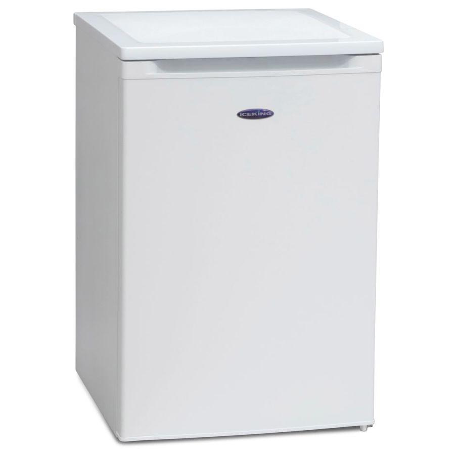 Iceking White Under Counter Fridge With Ice Box RK548W