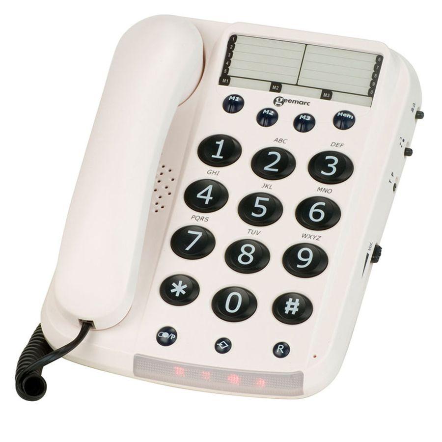Geemarc Big Button Telephone Dallas 10