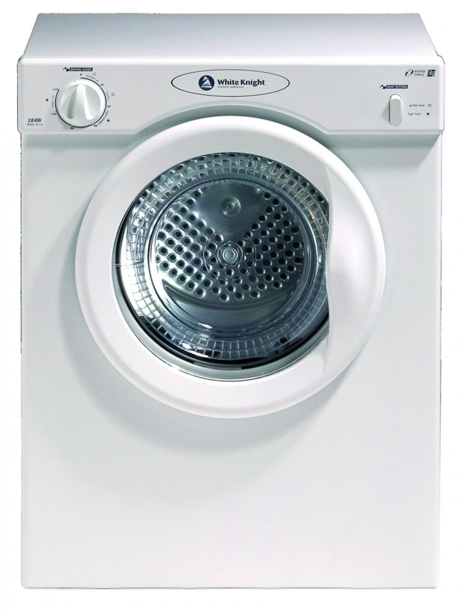 White Knight 3kg Vented Dryer WK38AW