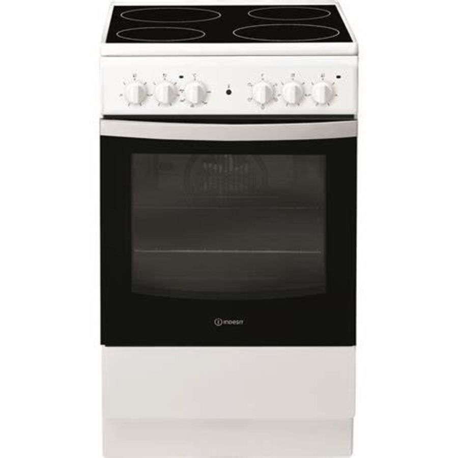 Indesit Single Cavity Electric Cooker IS5V4KHW