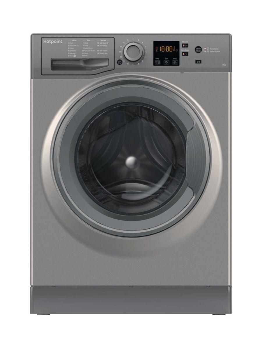 Hotpoint 7kg 1400 Spin Washing Machine NSWF743UG