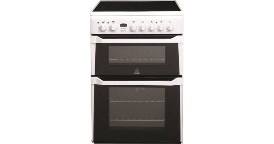 Indesit Double Oven Electric Cooker ID60C2W