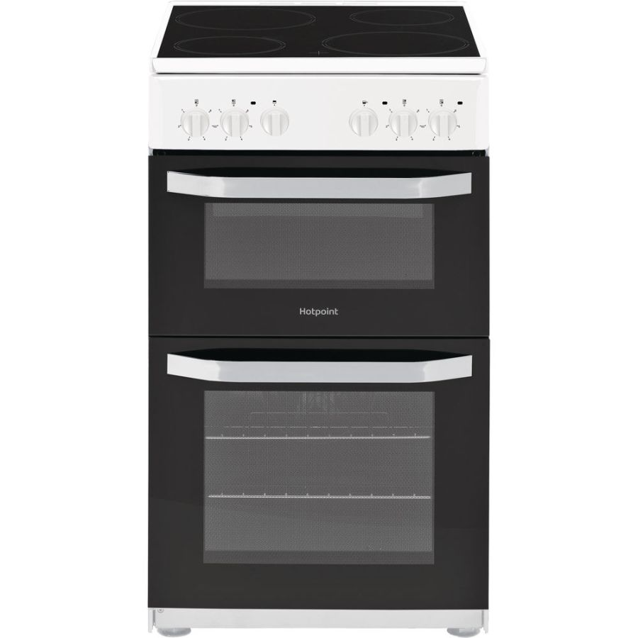 Hotpoint Twin Electric Cooker HD5V92KCB