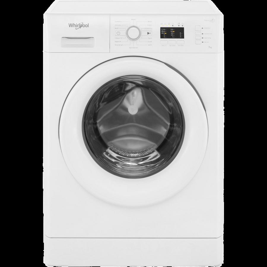 Whirlpool White Washing Machine FWL71253W