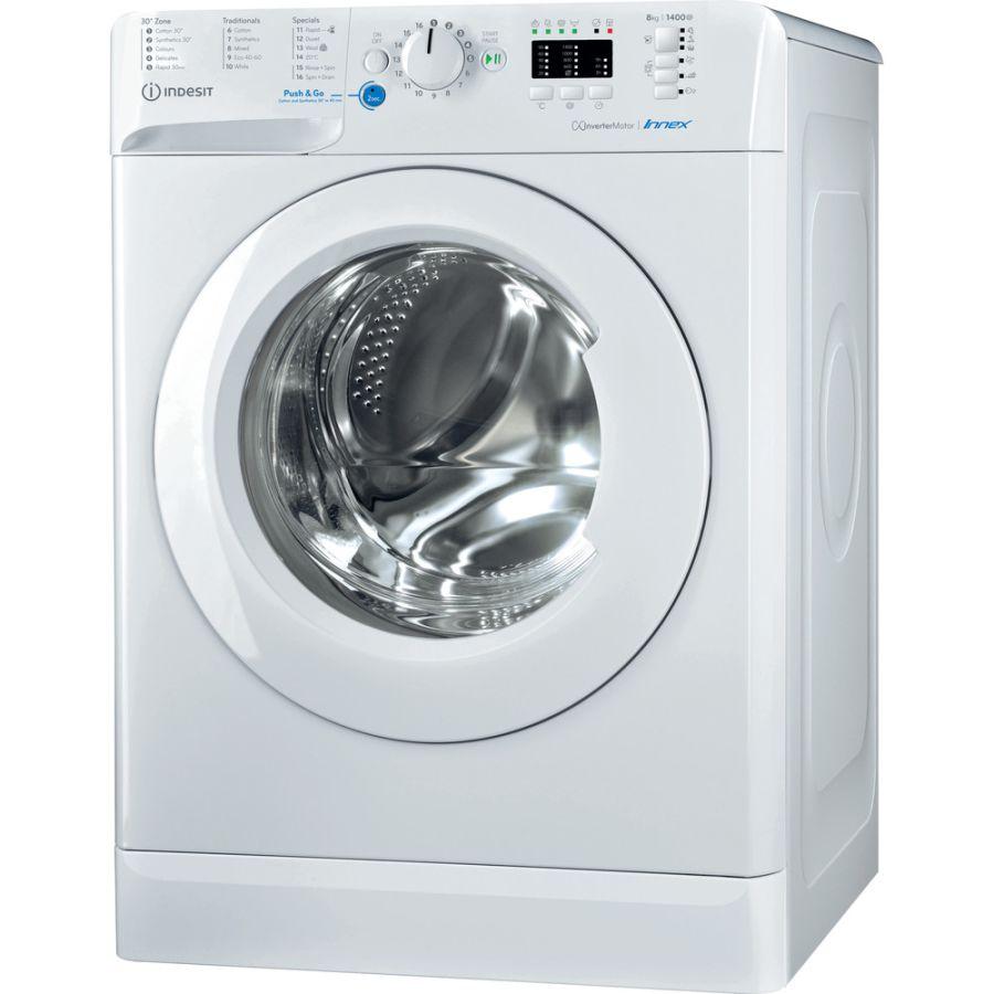 Indesit Washing Machine BWA81484XWUKN