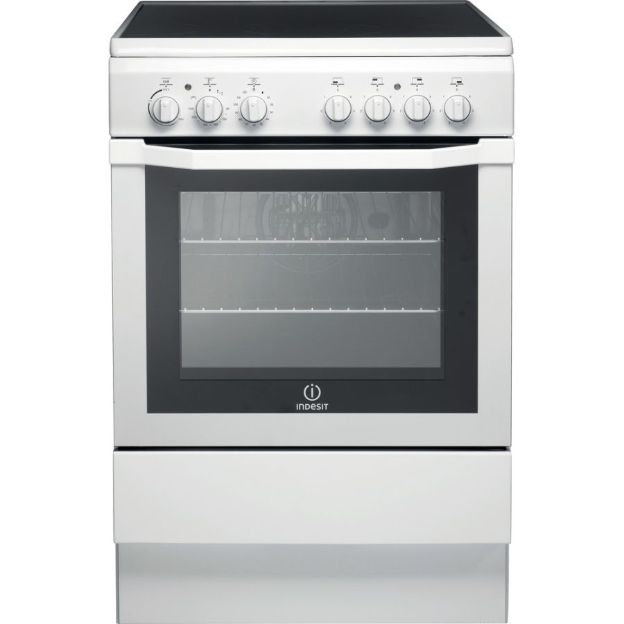 Indesit White Electric Cooker 16VV2A