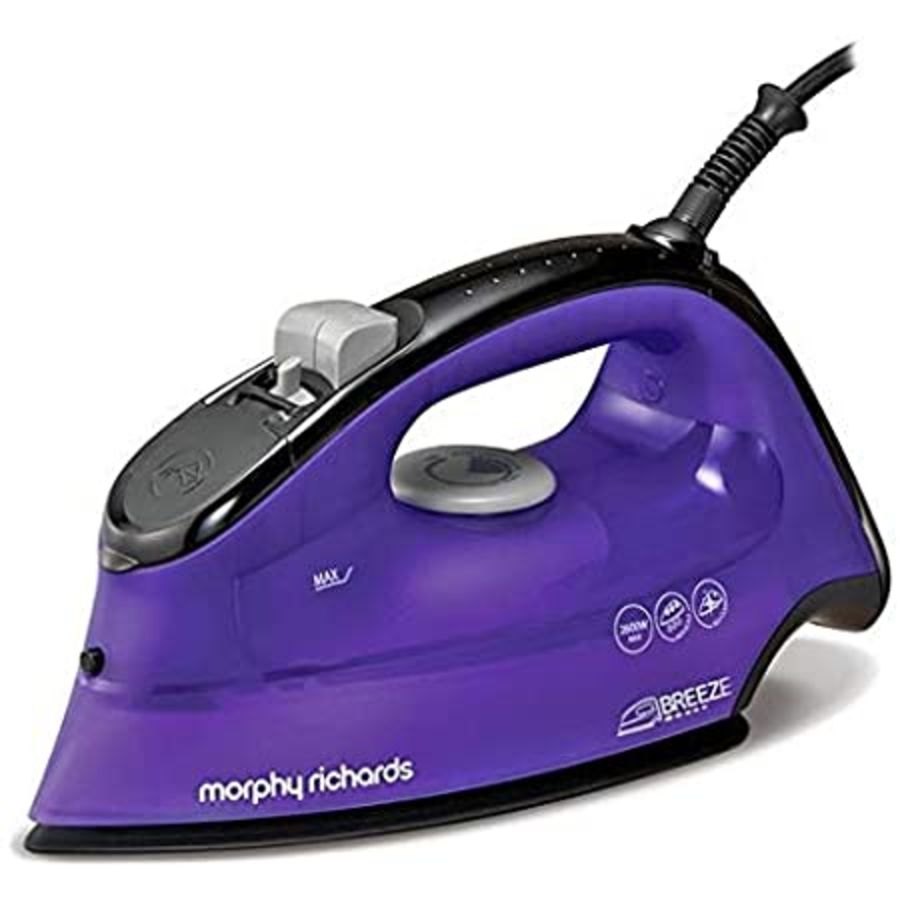 Morphy Richards Breeze Purple Steam Iron 300253