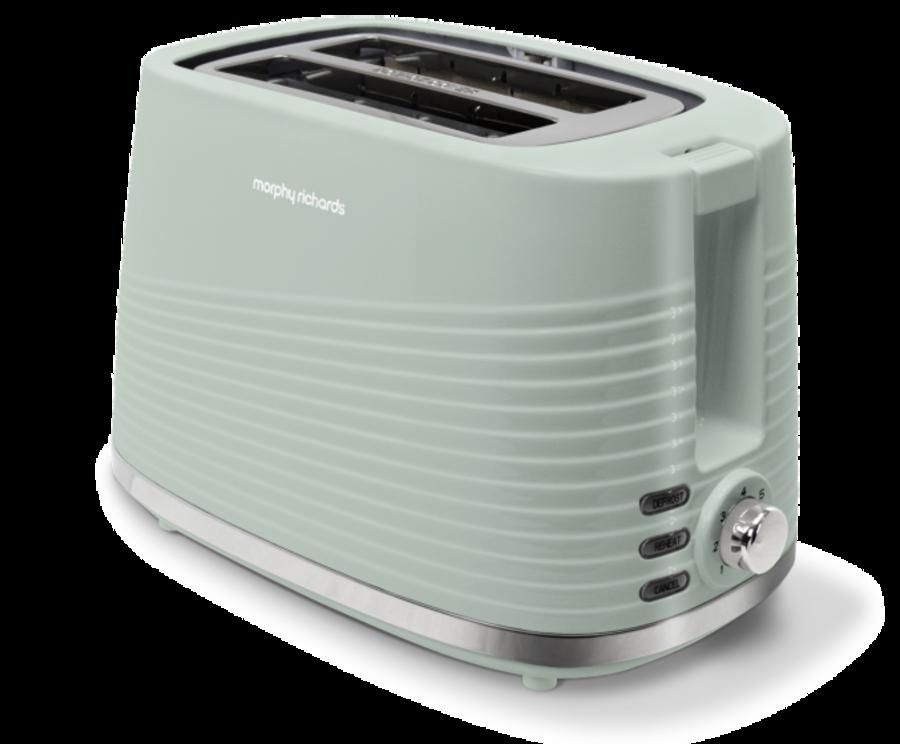 Morphy Richards Dune Sage Green 2 Slice Toaster 220028