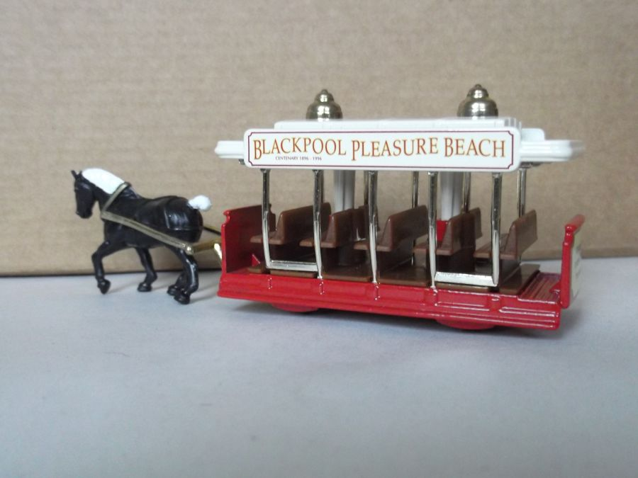 DG01011, Horse Drawn Tram, Blackpool Pleasure Beach