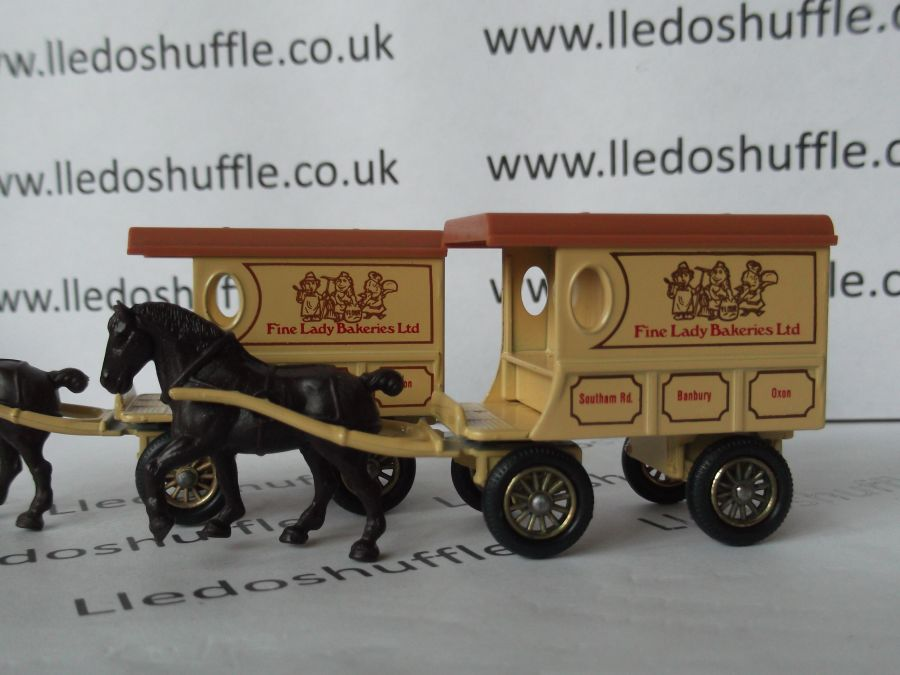 DG03002, Horse Drawn Delivery Van, Fine Lady Bakeries Ltd, Light Print
