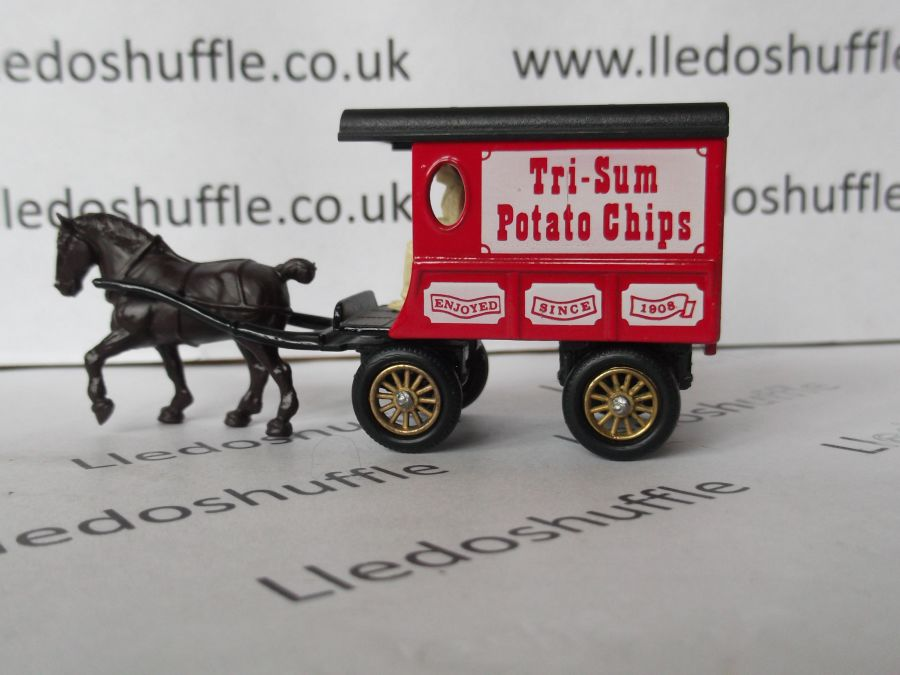 DG03010, Horse Drawn Delivery Van, Tri-Sum Potato Chips
