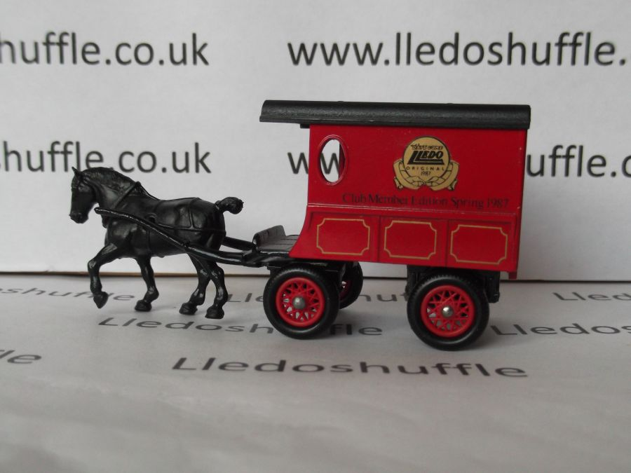 DG03011, Horse Drawn Delivery Van, Club Member Edition, Spring 1987